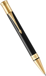 Шариковая ручка Parker Duofold Classic International K74, Black GT