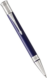Шариковая ручка Parker Duofold Classic International K74, Blue and Black CT