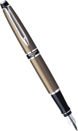 Перьевая ручка Waterman Expert City Line, Urban Brown (Перо F)