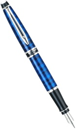 Ручка перьевая Waterman Expert 2, Sublimated Blue CT (Перо F)