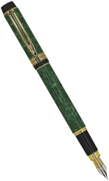 Ручка перьевая Waterman Man 100, Patrician Green (Перо F)