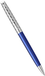 Шариковая ручка Waterman Hemisphere Deluxe 2020, Marine Blue CT